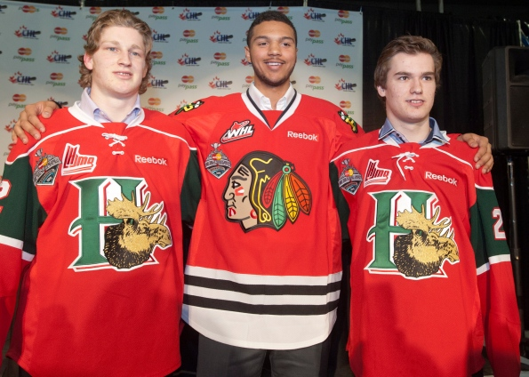 Seth Jones, Jonathan Drouin, Nathan MacKinnon