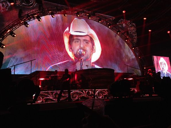 Brad Paisley performs an extended set for a sold-out crowd at the South Okanagan Events Centre in Penticton last Thursday. I was fortunate to be standing front row for the 2 1/2-hour performance and would rank it among the all-time best concerts I've attended.