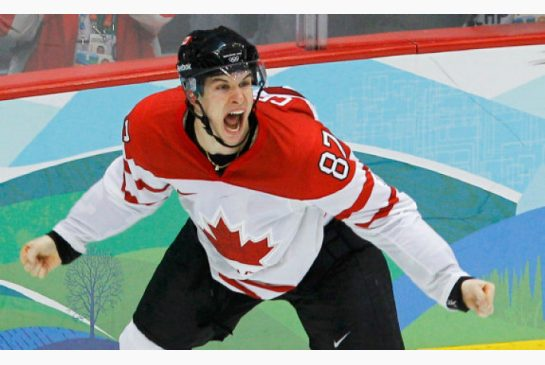 TODD KOROL/REUTERS Canada's Sidney Crosby scored the winning goal against the United States in overtime during the men's hockey gold-medal game at the Vancouver 2010 Winter Olympics.