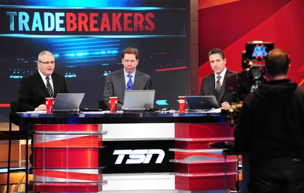TSN.ca The TSN hockey insiders, from left, Bob McKenzie, Gord Miller and Darren Dreger will be a busy bunch over the next five days as their team will be counted on to break trades as they happen leading up to Wednesday's noon PT deadline.
