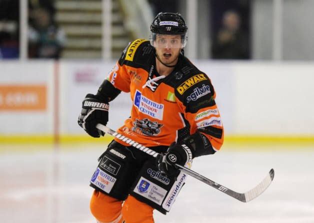 Sheffield Steelers Official Website Stefan Meyer also appeared to have decent potential coming out of junior as a former second-round pick of the Florida Panthers, but for whatever reason(s) he failed to stick with Florida or the Calgary Flames, and ended up heading overseas at a fairly young age. Now 28, Meyer has spent the last three seasons in three different European leagues. In 2013-14, Meyer played for the Sheffield Steelers in England, finishing second in team scoring with 28 goals and 54 points in 57 games. Like Pogge, Meyer could still seemingly find his way back across the pond, but he would need to take a step up in competition to get the attention of NHL teams at this point.